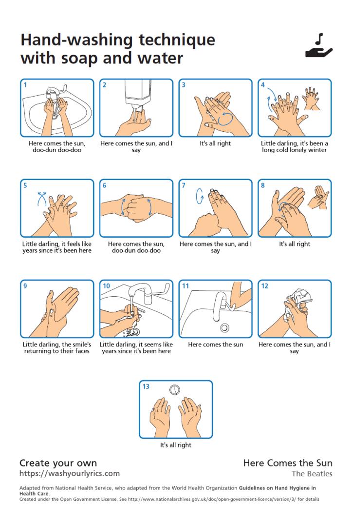 sun hands
